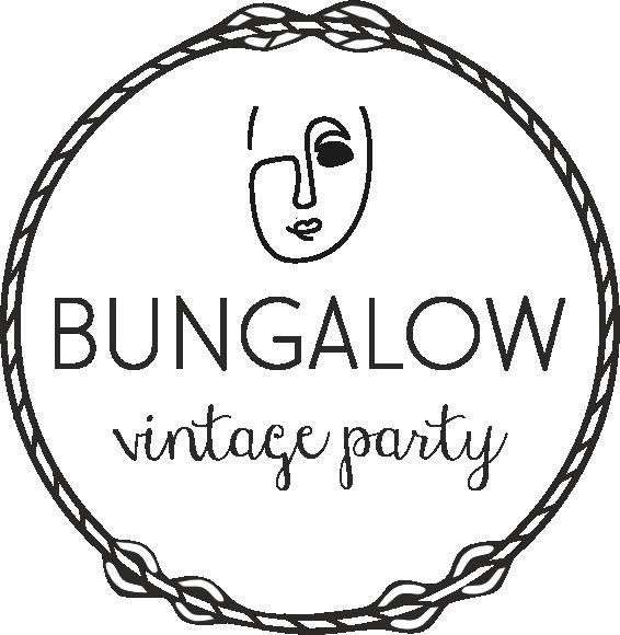 Bungalow Vintage party logo